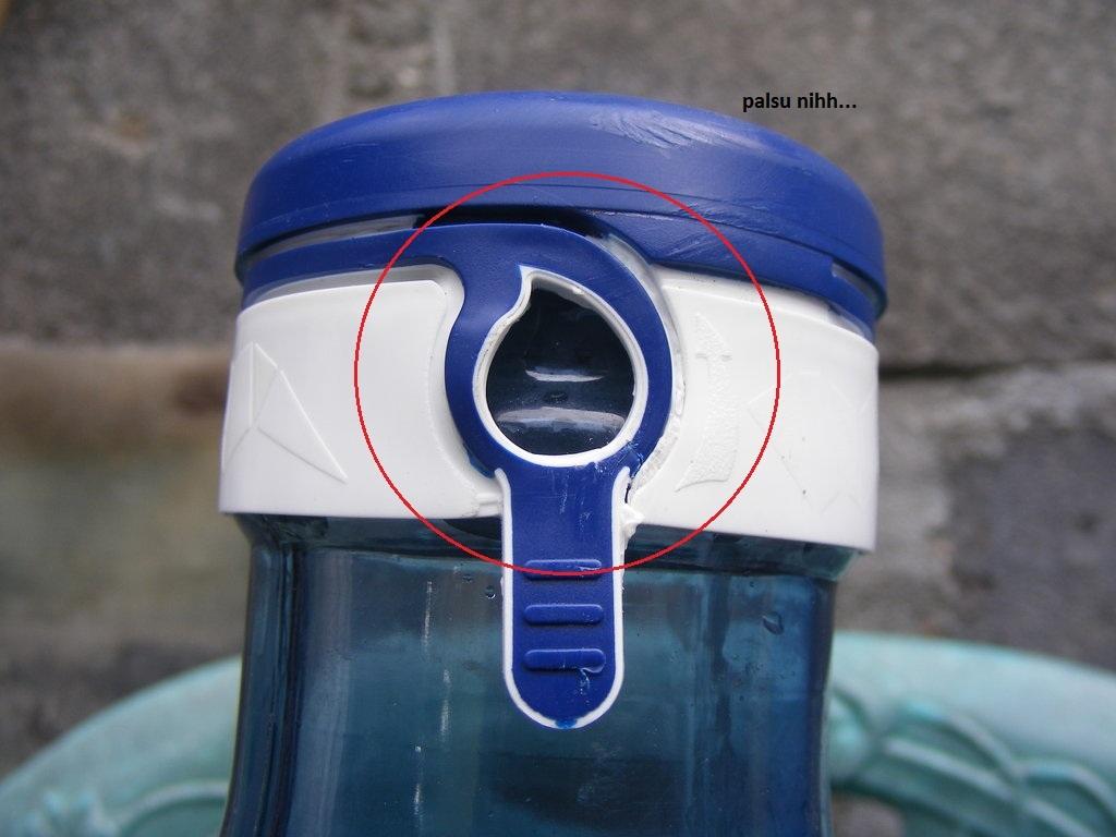 cara membedakan air galon asli dan palsu suka suka sa
