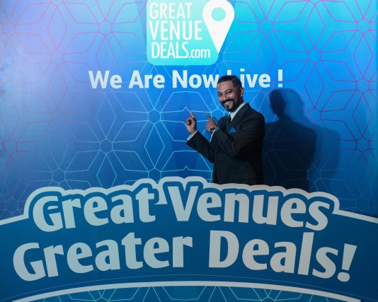 GreatVenueDeals.com Official Launch