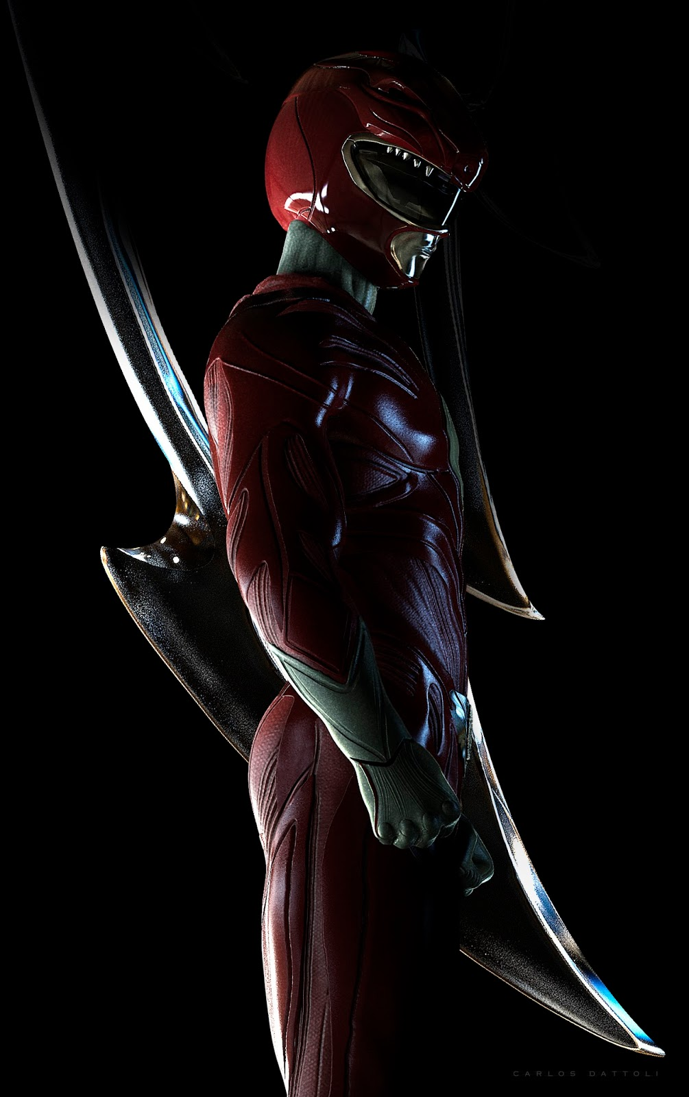 Carlos Dattoli Red Power Rangers