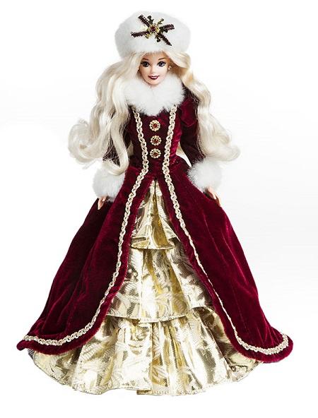 Barbie Coleção Feliz Natal 1996
