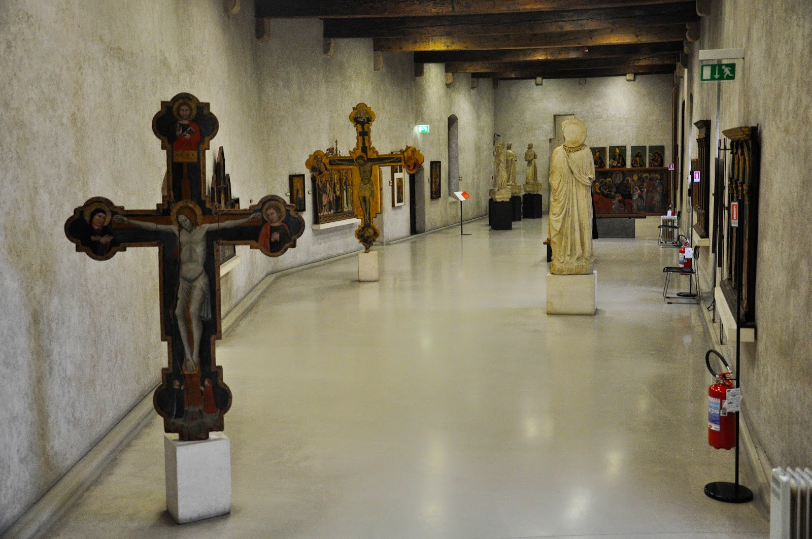 Religious art in the Museum of Castelvecchio in Verona