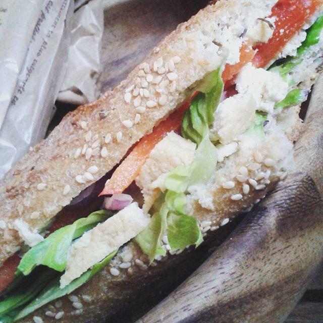 Tofu Vegan Sandwich