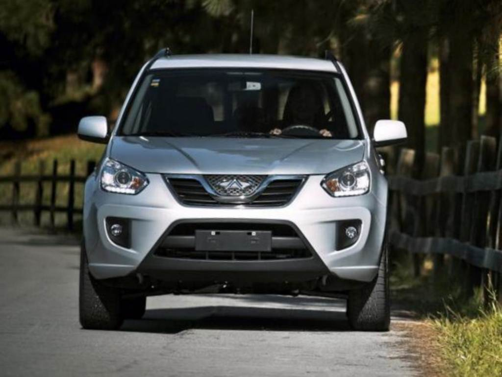 carro on Chery Tiggo 2014