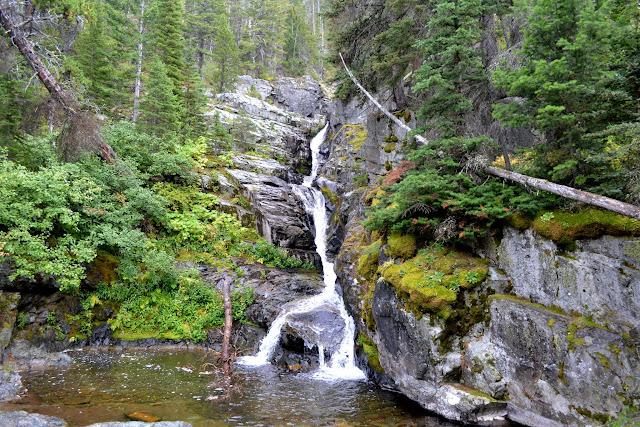 Національний Парк Глейшир. Водоспад Астер. Монтана (Aster Falls, Glacier National Park, MT)