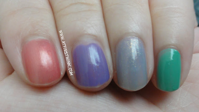 Sasatinnie nail polish swatches