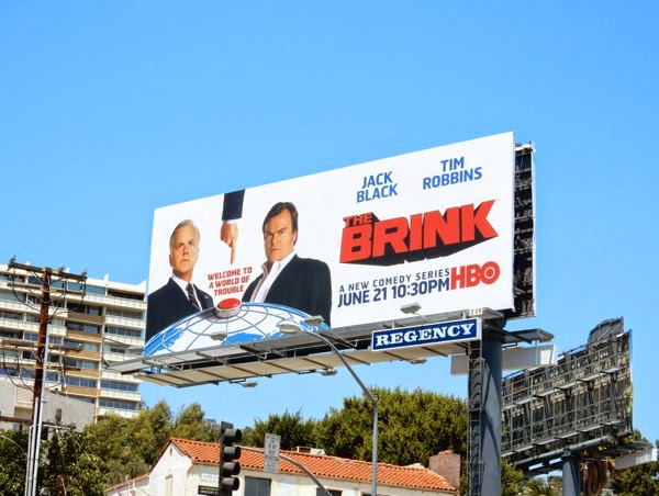 The Brink season 1 billboard