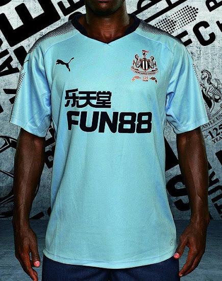 half off 14663 a7c4b Newcastle United 17-18 Away Kit Revealed - Footy Headlines