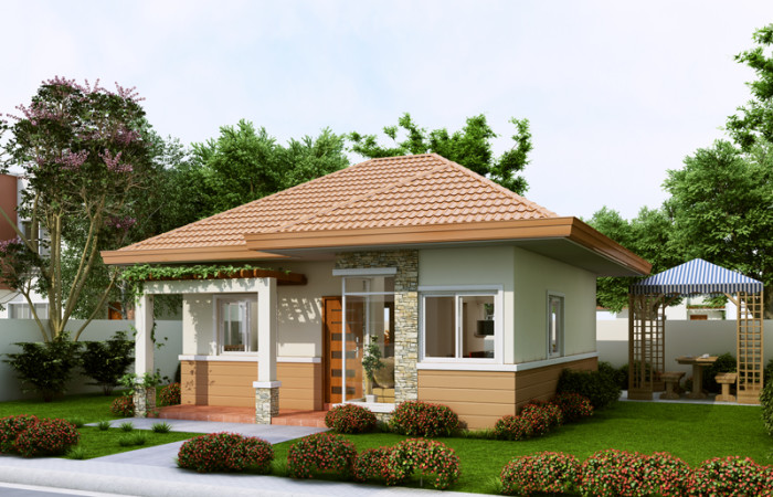 Small House Designs Are Cheaper To Build And Simpler To Maintain Once  Built. Less To