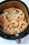 Air Fryer Parmesan Shrimp