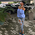 Tonto Dikeh steps out in seriously ripped jeans (Photos)