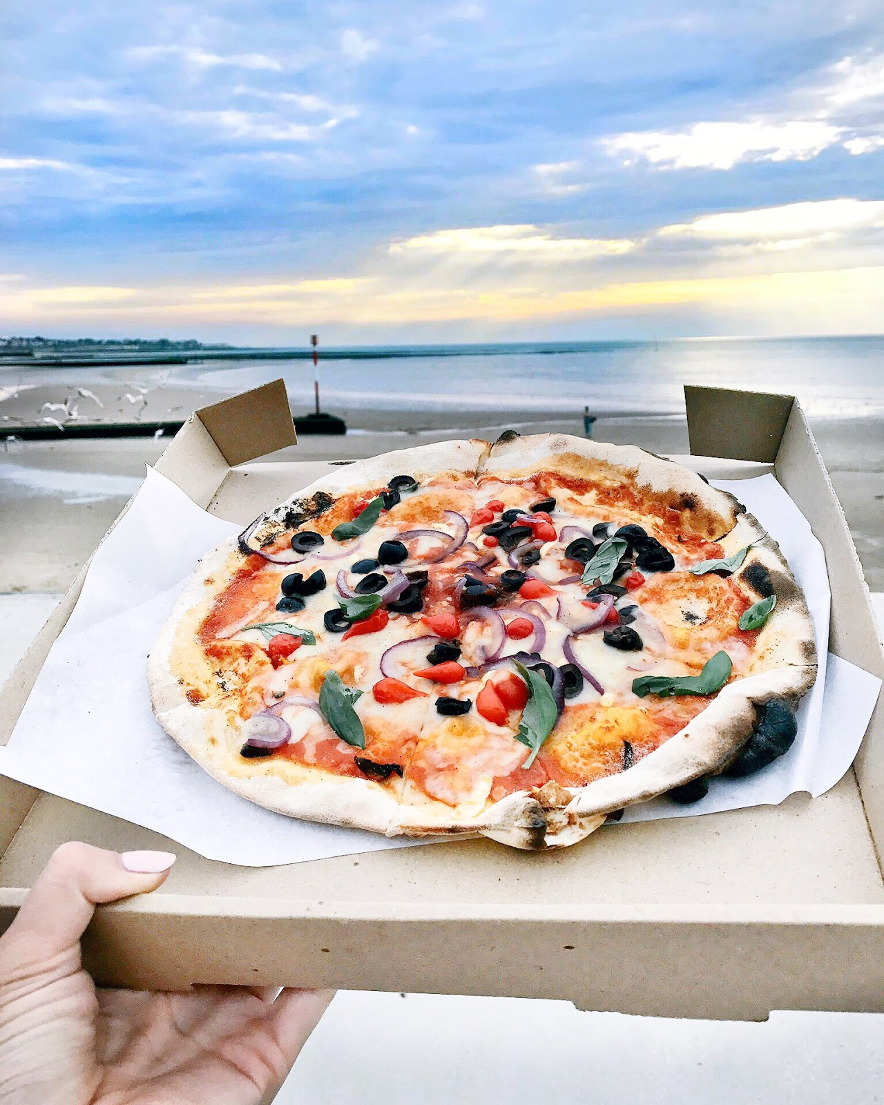 great british pizza, margate