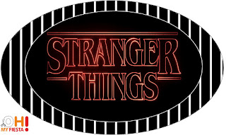Stranger Things: Free Printable Candy Bar Labels.