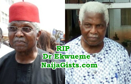 dr alex ekwueme died chest infection