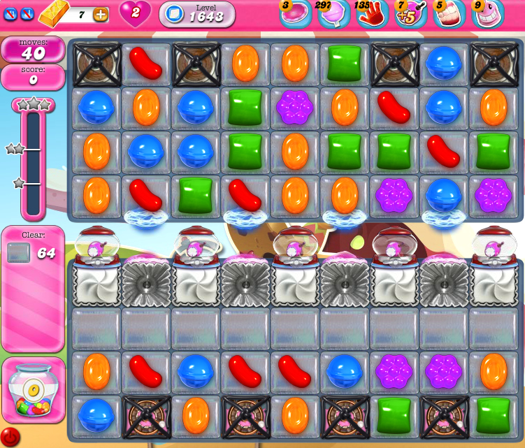 Candy Crush Saga 1643