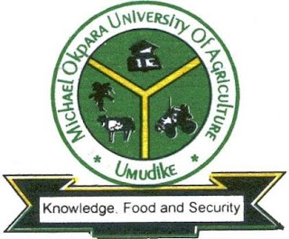 Micheal Okpara University of Agriculture, Umudike ,MOUAU has released the approved academic calendar for 2017/18 academic session