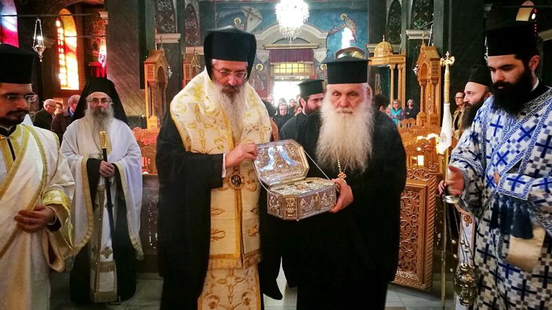 Αλεξανδρούπολη: Υποδοχή ιερού λειψάνου Αγίου Λουκά του ιατρού
