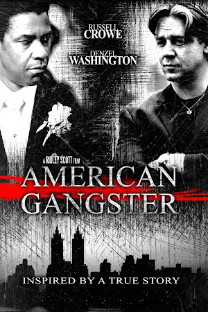 Poster Of American Gangster 2007 In Hindi Bluray 720P Free Download