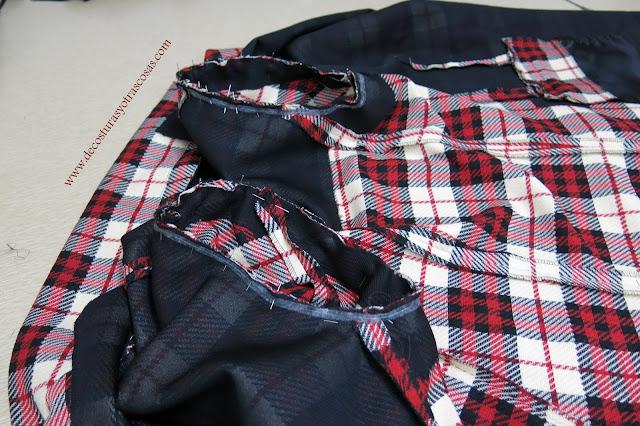 como coser  correctamente la manga sastre