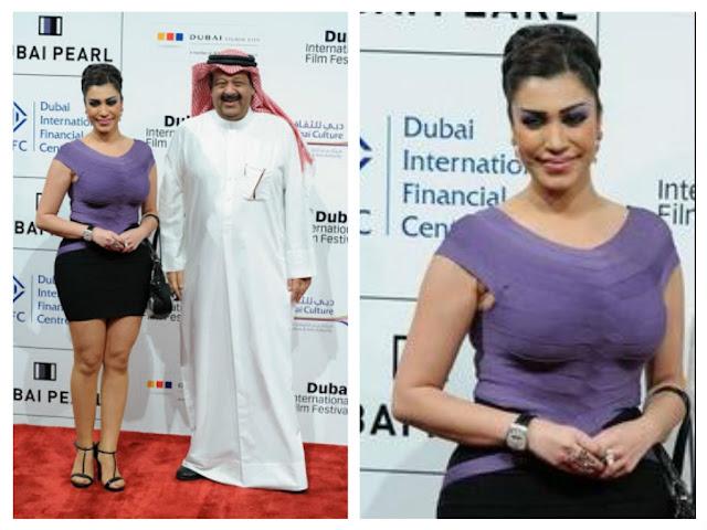 فاطمة عبدالرحيم  تثير الجدل في مهرجان دبي السينمائي