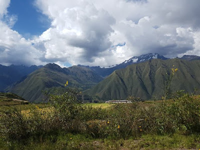 Trayecto de Cuzco a Ollantaytambo