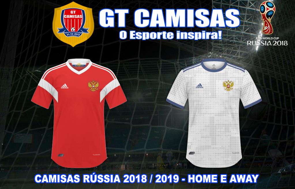 9f6e8c4f87 GT Camisas  Camisas Copa do Mundo Rússia 2018 - Todos os Participantes