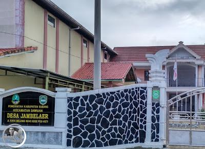 FOTO 1: Kantor Desa Jambelaer, Kecamatan Dawuan