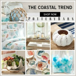 Coastal Decor at Pottery Barn