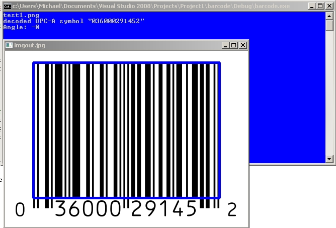 Tutorial: Scanning Barcodes / QR Codes with OpenCV using ZBar