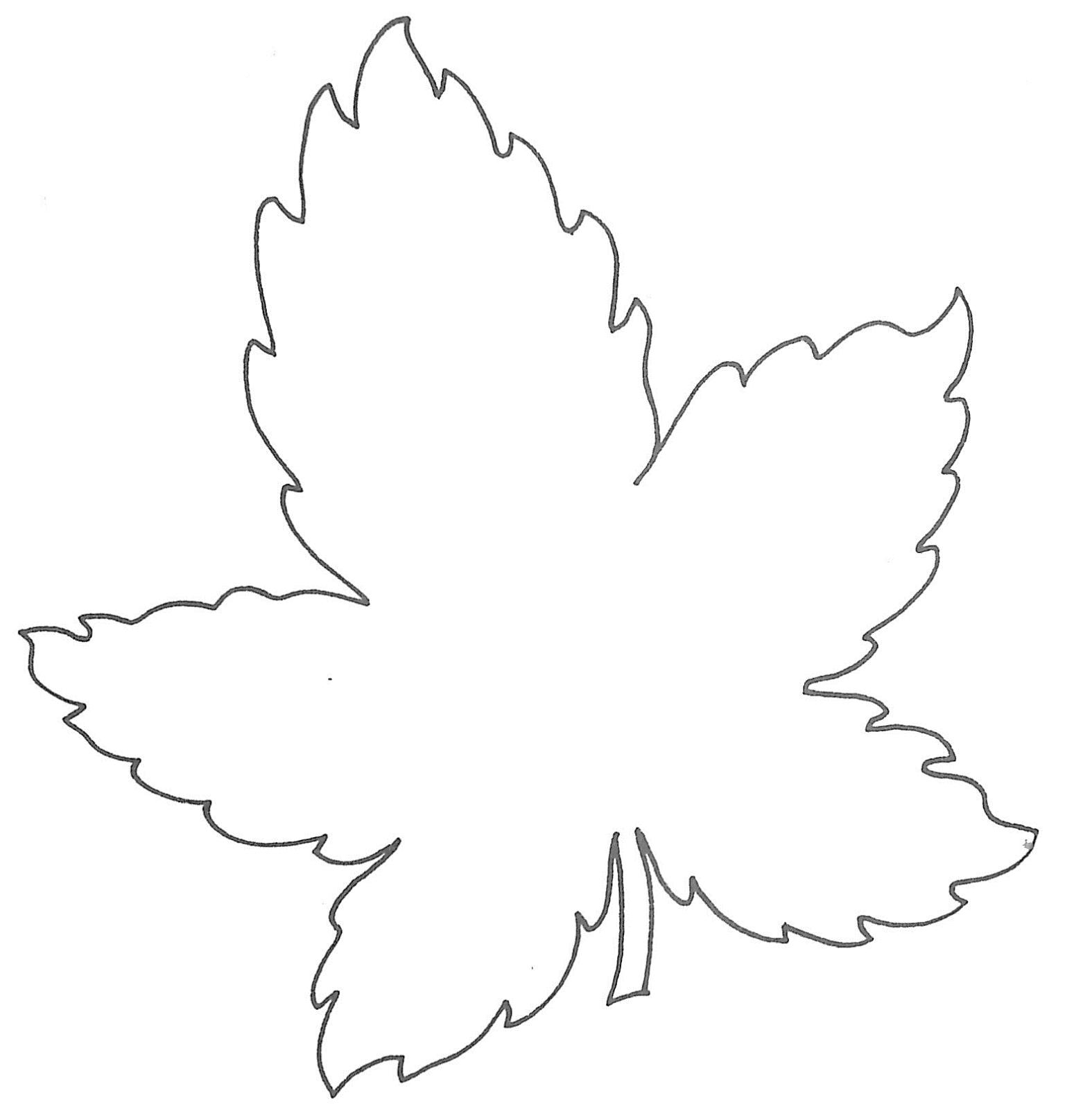 Glenda S World Leaf Templates