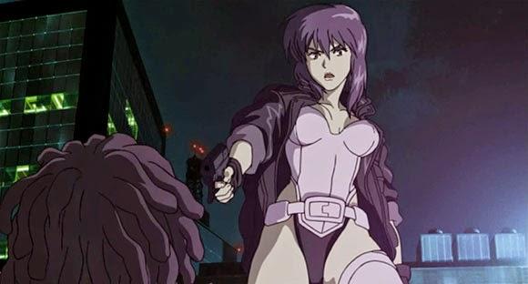 Motoko Kusanagi - Karakter wanita cool keren cantik