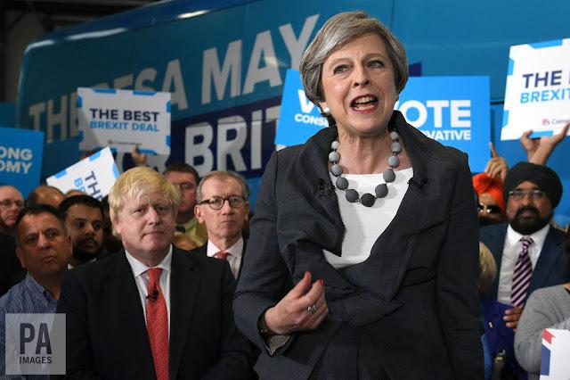 Theresa May - seeking a carte blanche?