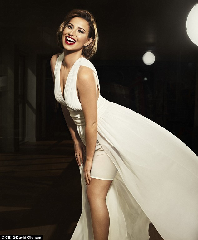 Ferne McCann channels Marilyn Monroe for oral care campaign