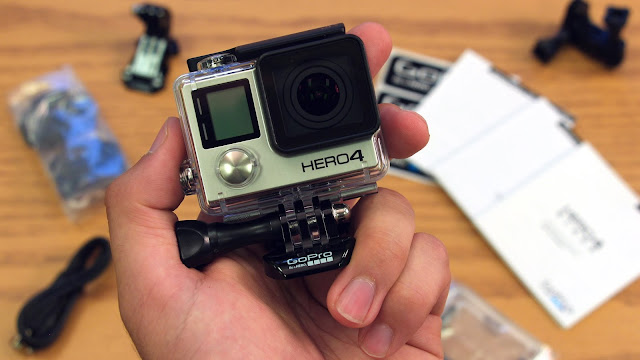 Spesifikasi GoPro Hero 4 Silver Edition Benar-Benar Action Cam Profesional