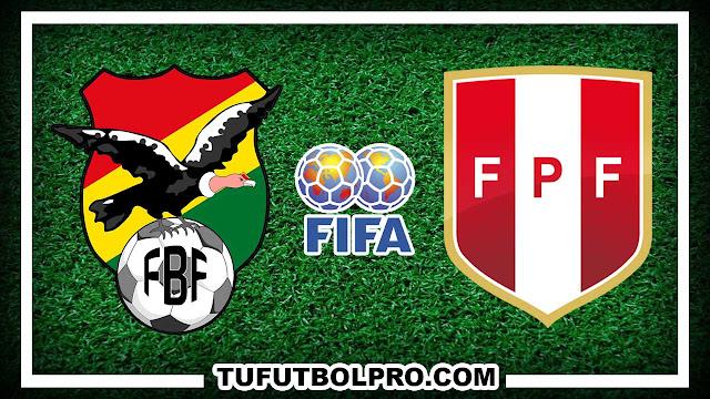 Ver Bolivia vs Perú EN VIVO Por Internet Hoy 1 Septiembre 2016
