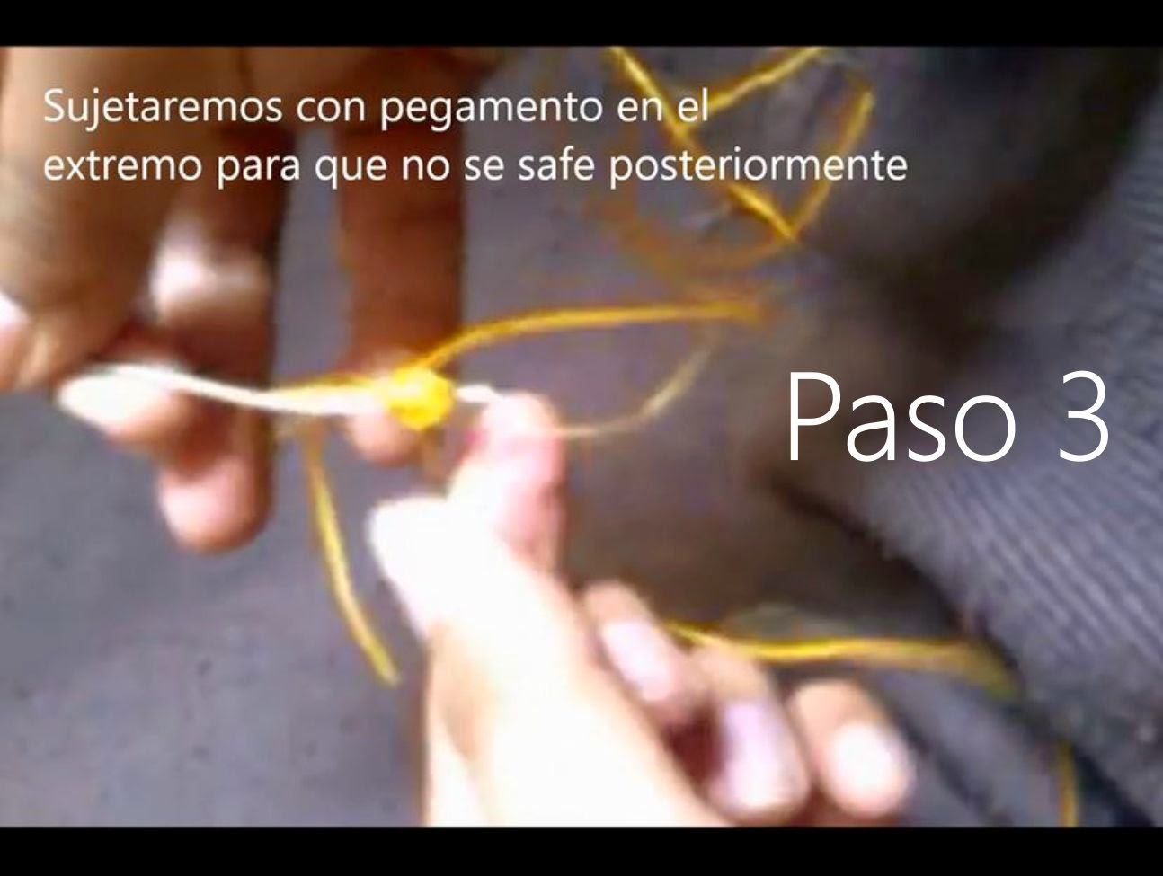 Llavero Lagrima Paso 3
