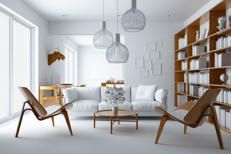 Illuminare un interno con cinema4d vray la guida for Interni 3d
