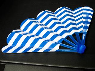 「助太力プリント」で印刷した扇子の写真