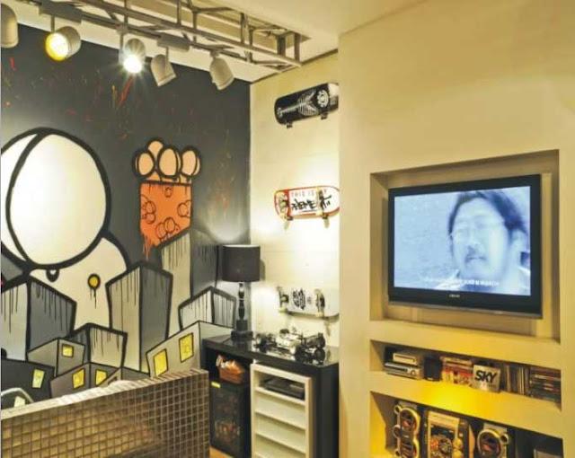 Dormitorio graffiti para jovencito - Habitaciones con graffitis ...
