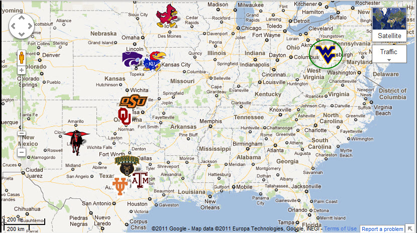 Conference Realignment … In this High Stakes Game of College