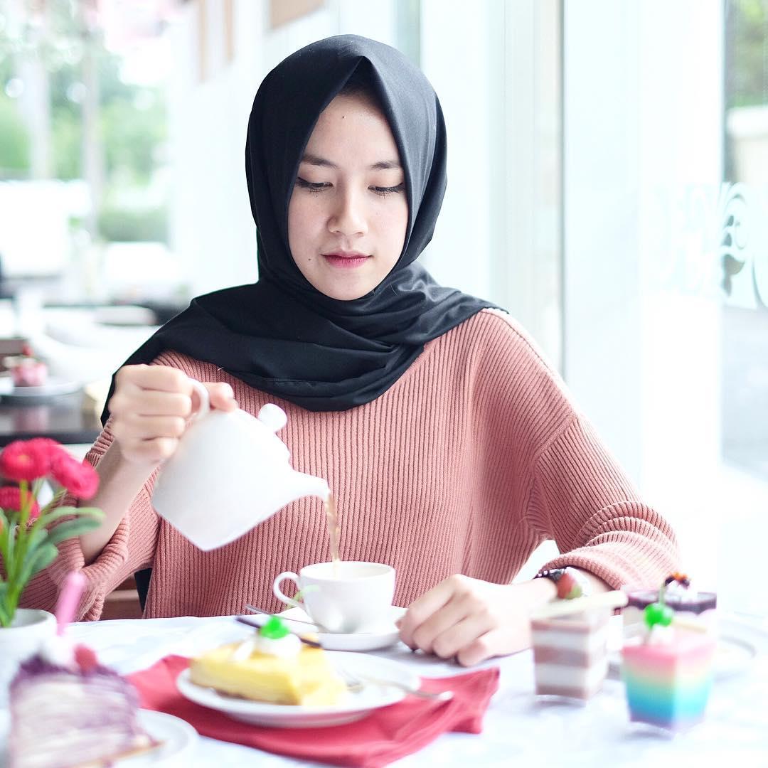 Gaya Hijab Yang Sedang Populer Tutorial Hijab
