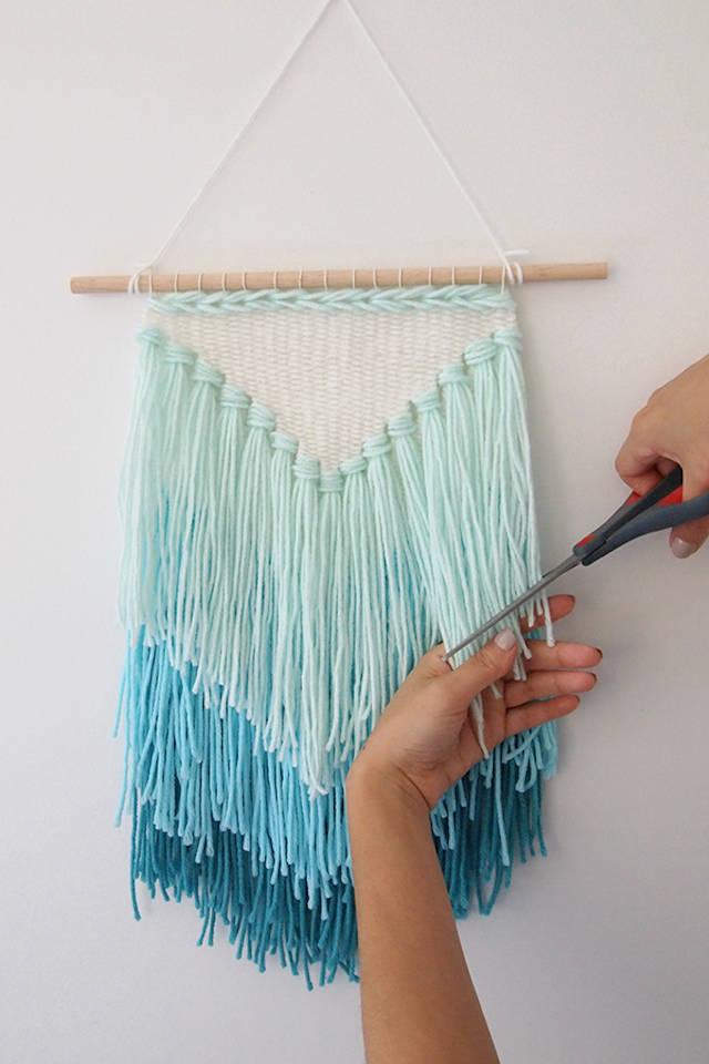 7 tapices o colgadores diy fáciles de hacer