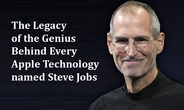 The Legacy of the Genius Behind Every Apple Technology named Steve Jobs