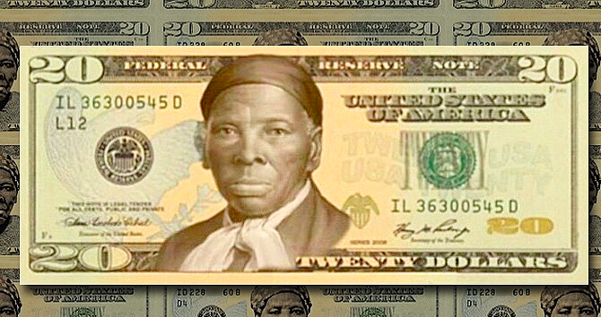 african american woman 20 dollar bill