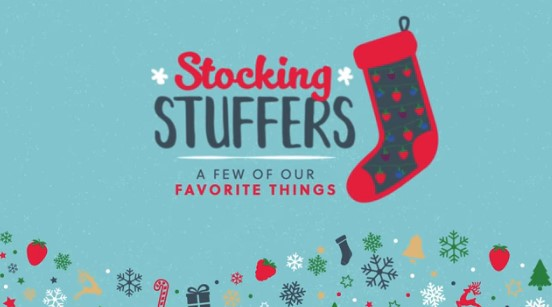 Stocking Stuffers Giveaway
