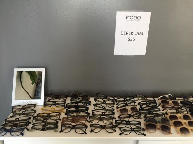 Derek Lam sunglasses and eyeglasses