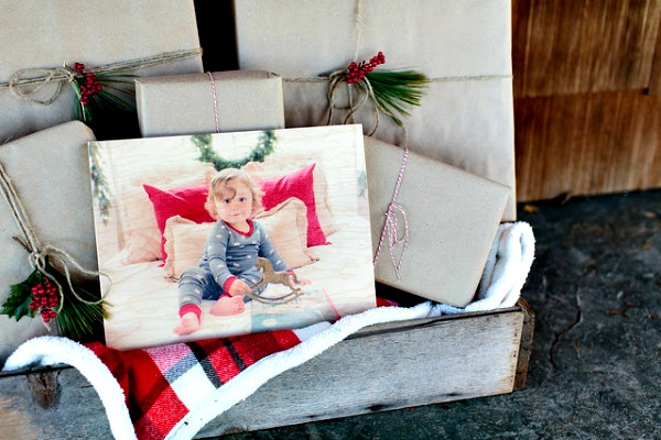 PhotoBoards are great Christmas gifts this year featured on Walking on Sunshine.