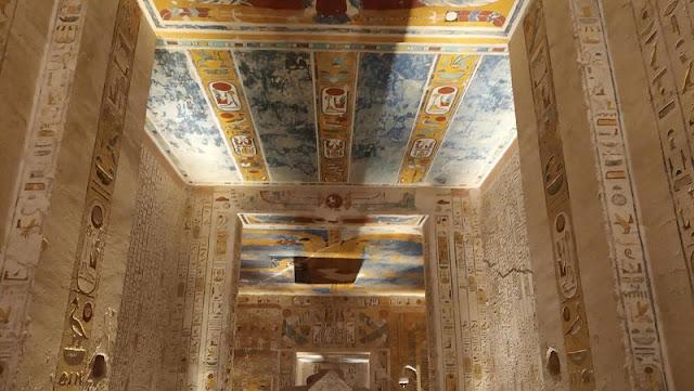 la tomba di Ramses Vi nella Valle dei re