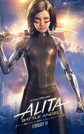 Alita Battle Angel 2019 Dual Audio Hindi 950MB HDRip 720p