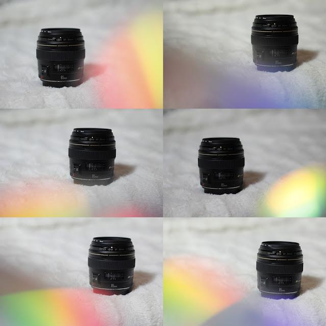 Trik z płytą CD / Kolorowe efekty
