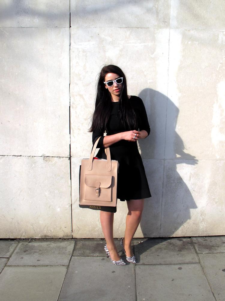 Black Issa Dress Emma Louise Layla